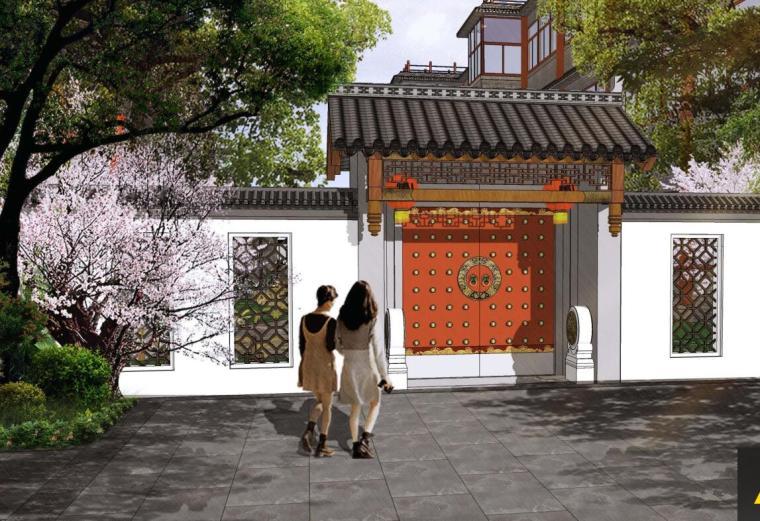[北京]清明上河园景观方案设计文本
