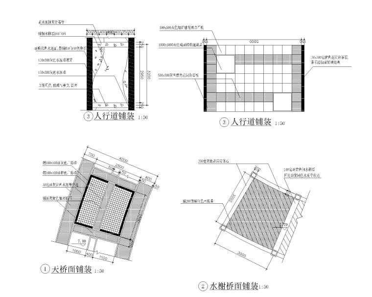 精选路缘侧石设计施工图(25套)-侧石014