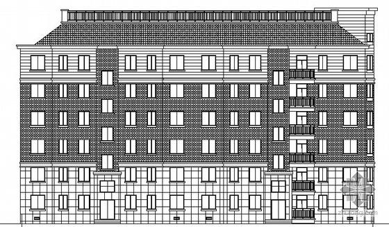 [安徽滁州]某湖心小区3号楼建筑施工图