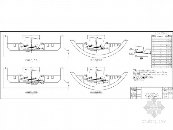 铁路隧道CRTSI型减振型板式无砟轨道平纵断面布置图54张(竣工图)-铁路隧道CRTS I型减振型板式无砟轨道平纵断面布置图54张(竣工图)