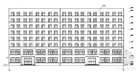 某八层办公楼建筑结构施工图-2