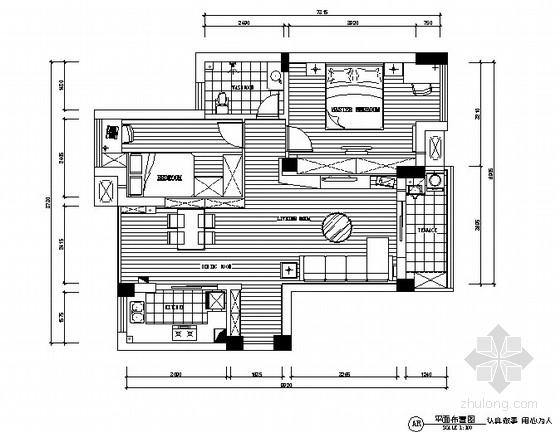 [深圳]宝安区某小区二室二厅装修图