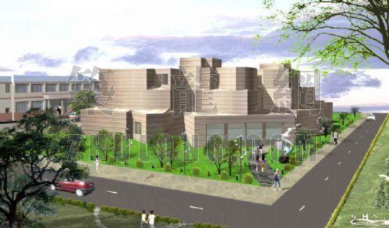 仿欧式大学生活动中心方案设计