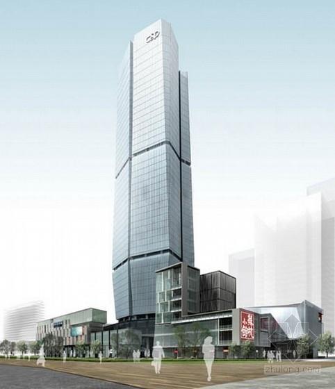 [福建]48层超高层玻璃幕墙商业综合体建筑设计方案文本(资料齐全,附图丰富)