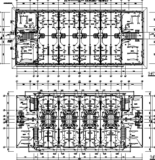 [安徽]批发市场商业楼电气施工图(2016最新设计)