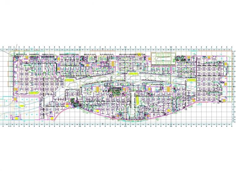 [湖北]多层商业建筑空调通风及防排烟系统(机房设计、大院出品)