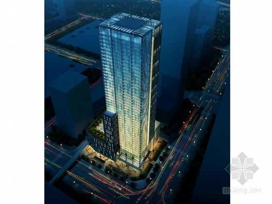 [深圳]城市CBD核心区商业办公综合大厦建筑设计方案文本