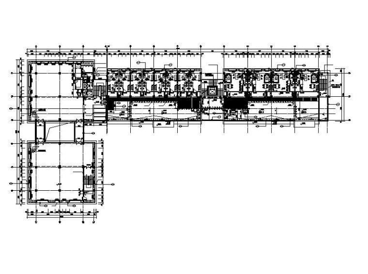 [江苏]高层长条形职业学校科技研发楼建筑施工图(含节能设计)-高层长条形职业学校科技研发楼建筑