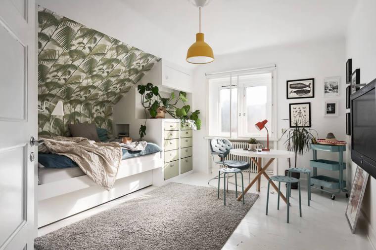 瑞典高格调的阁楼公寓-101741qo3bnp3zsz4iakwx