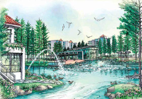 品清湖小区园林设计方案-4