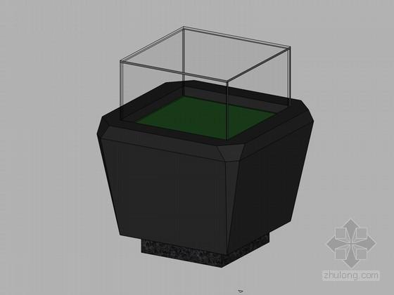 精品展示柜SketchUp模型下载