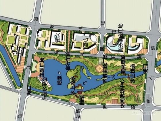[山东]低碳生态活力城市景观规划设计方案