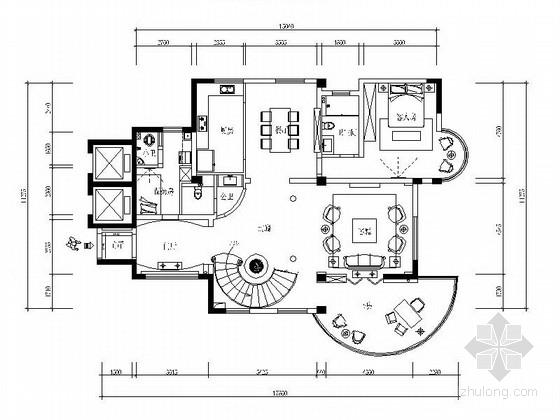 [绍兴]欧式双层别墅室内装修图(含效果)