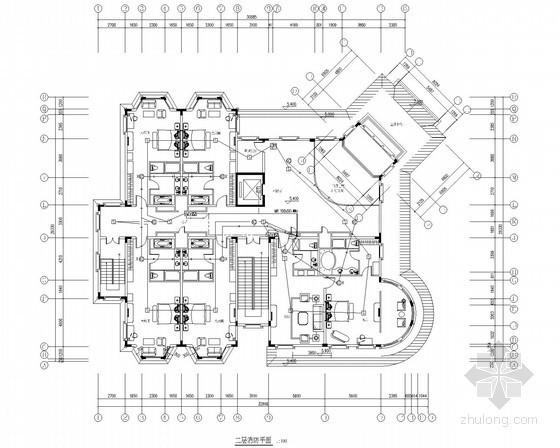 [广东]12万平知名酒店电气设计施工图纸