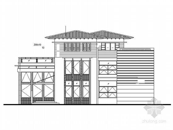 [莆田]湄洲岛鹅尾山某三层别墅(D型)建筑施工图