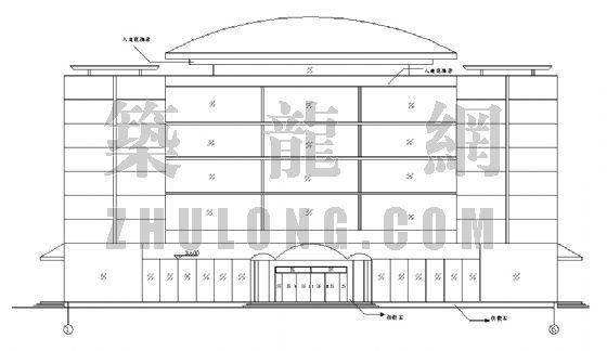 某钢结构超市[含结构图]