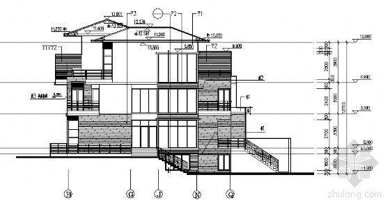 丹堤A区24、26、27号楼建筑施工图-2