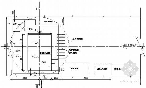 引水竖井开挖支护施工技术措施及设计图纸(cad图)