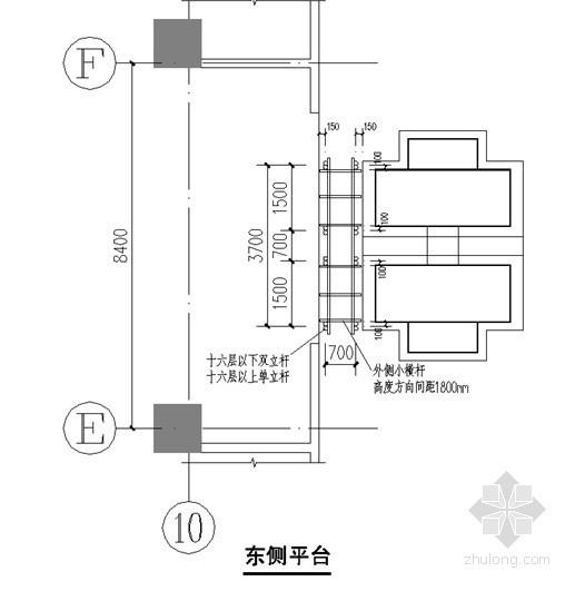 [北京]综合办公楼室外电梯施工方案(计算书)