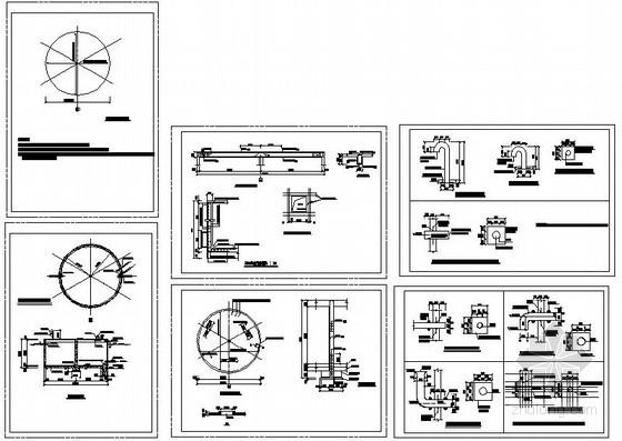 某50立方清水池结构设计图
