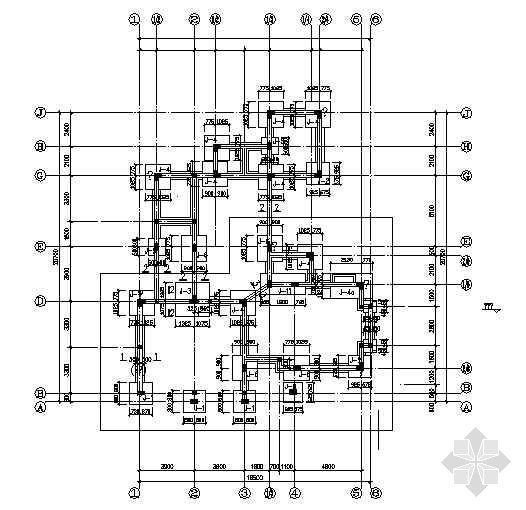 某独立别墅结构设计图纸