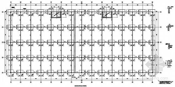 兰溪市某钢结构中转仓库结构设计图