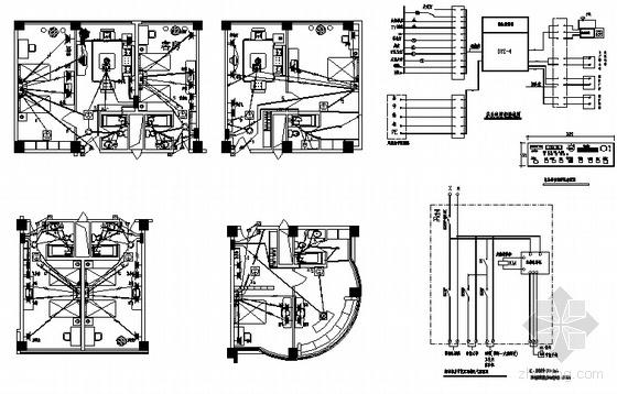 高层综合楼电气图纸
