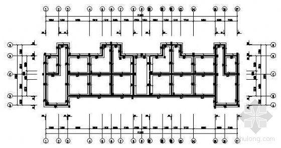 某三层宿舍楼结构图纸