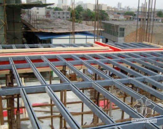 以钢代木建筑模板支撑龙骨图片