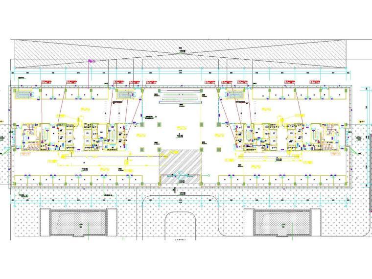 [江苏]高层办公建筑通风防排烟系统设计施工图