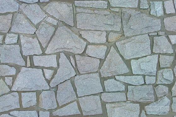 深灰色天然花岗岩乱形铺装