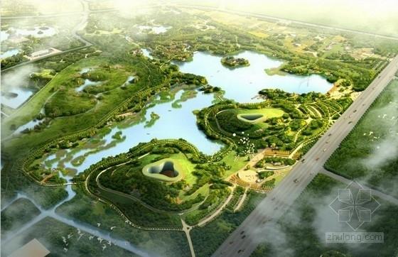 [北京]皇家底蕴大型郊野湿地公园景观规划设计方案