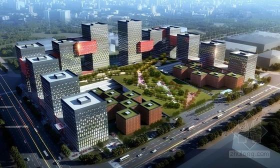 [河南]大型商业区规划及单体设计方案文本(含ppt)