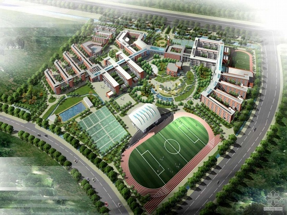 [南京]某外国语学校校园整体改造设计方案投标