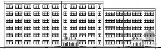 [辽宁工业大学毕业设计]某医院建筑设计方案图