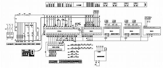 中央空调plc电气控制图