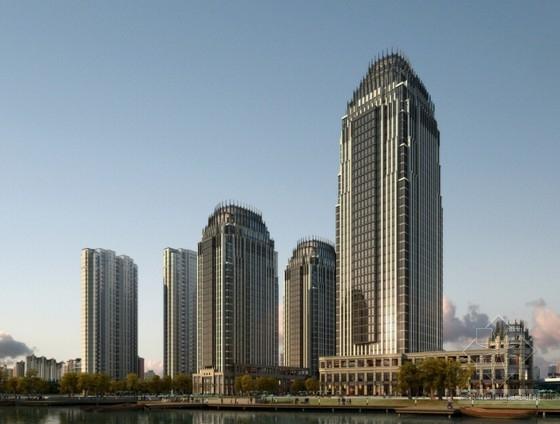 [浙江]artdeco风格高层办公楼方案设计文本