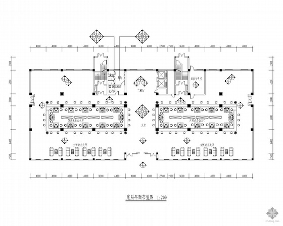 [江苏]劳动力市场综合楼装修竣工图