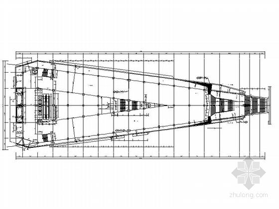 [福建]四层现代风格地铁站配套用房建筑施工图(2015年图纸知名设计院)-四层现代风格地铁站配套用房平面图