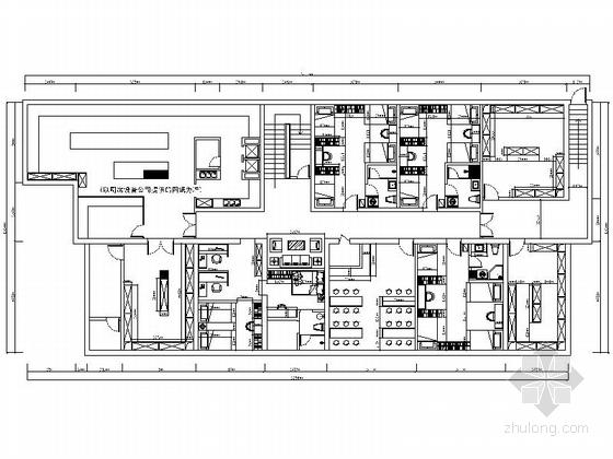 [北京]西城区典雅混搭休闲养生会所装修施工图(含效果)