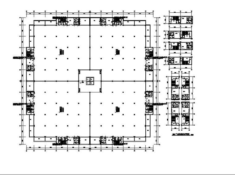 高层丁类生产类厂房建筑施工图