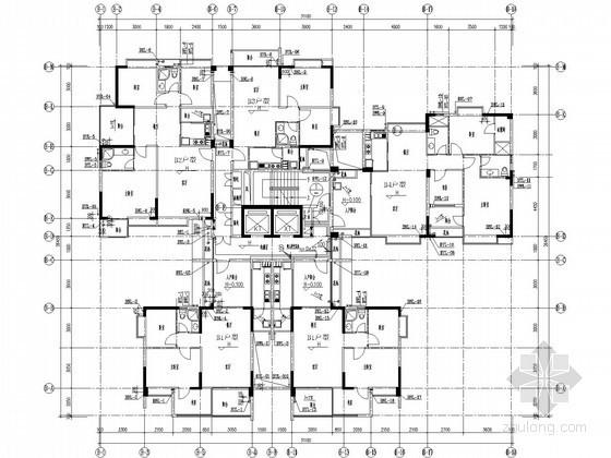 [广东]8万平米商业大厦给排水施工图(泡沫—水喷淋系统)
