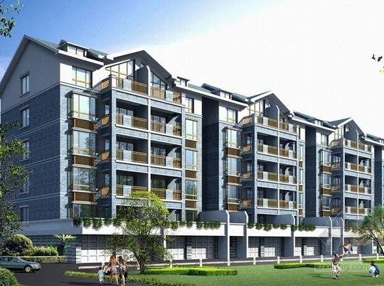 [安徽]3栋商住楼及地下室建筑安装工程量清单计价实例(含施工图百余张)
