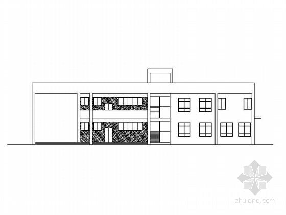 2班小型现代幼儿园建筑施工图