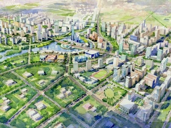 [北京]生态型城市核心地块规划设计方案文本