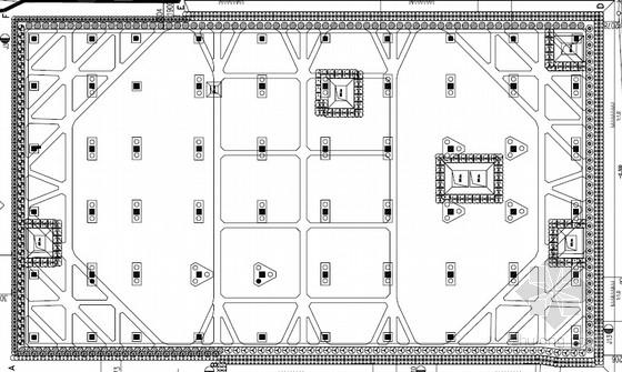 [江苏]9米深基坑排桩加内支撑支护施工图