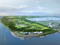 [上海]闵行浦江郊野公园项目景观概念设计(美食,古镇)