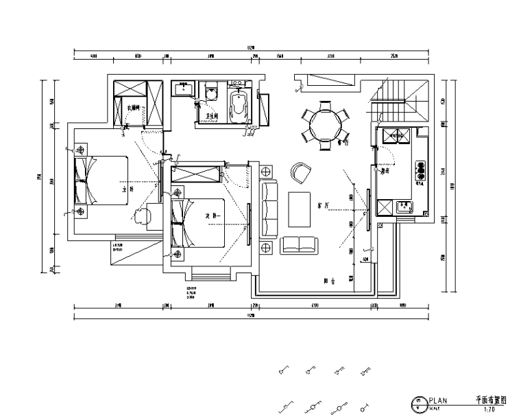 冬日阳光北欧风格复式住宅设计施工图(附效果图)