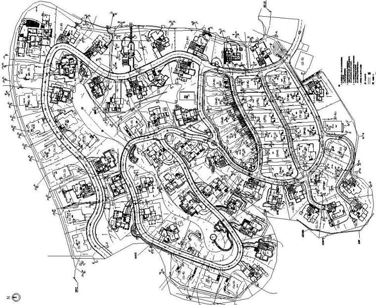 [江苏]南京翠屏国际城S3S4区全套景观施工图设计(五合国际)