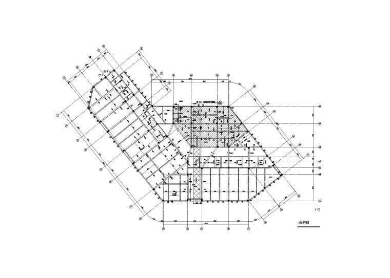 福建3层钢混框架结构幼儿园结构施工图2016